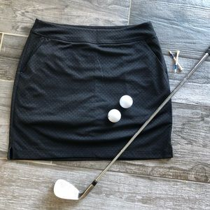 Greg Norman Black Golf Skirt